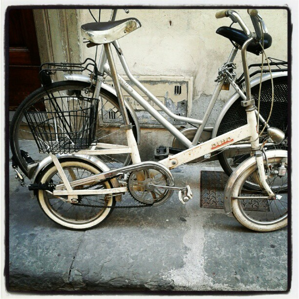 Dal passato direttamente al futuro #bike