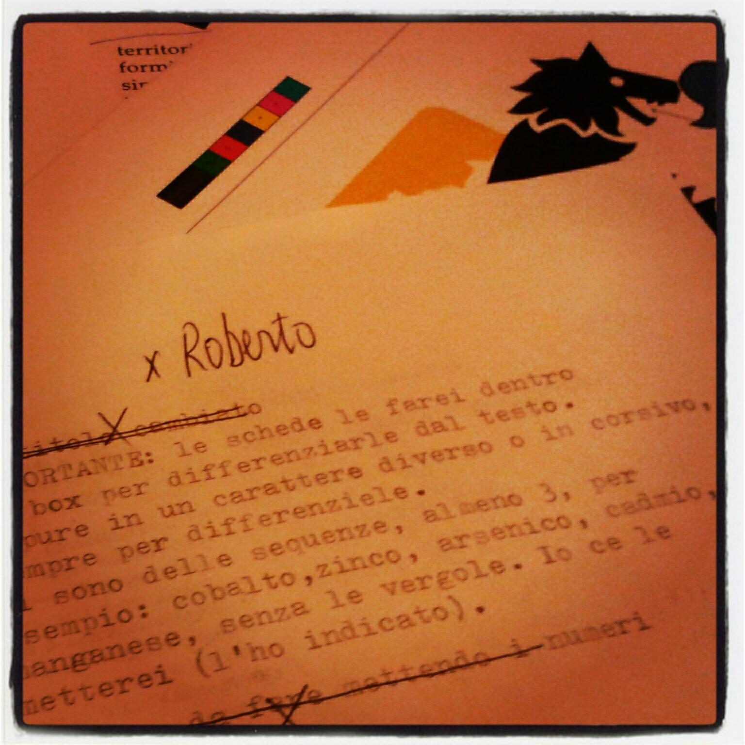 Lettera 22 per il libro di Roberto