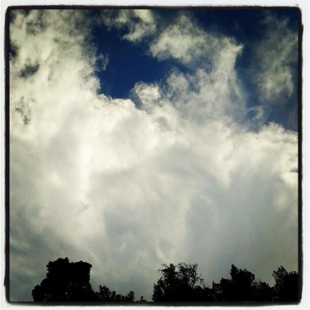 Gira il vento, cambia il tempo #bleuciel