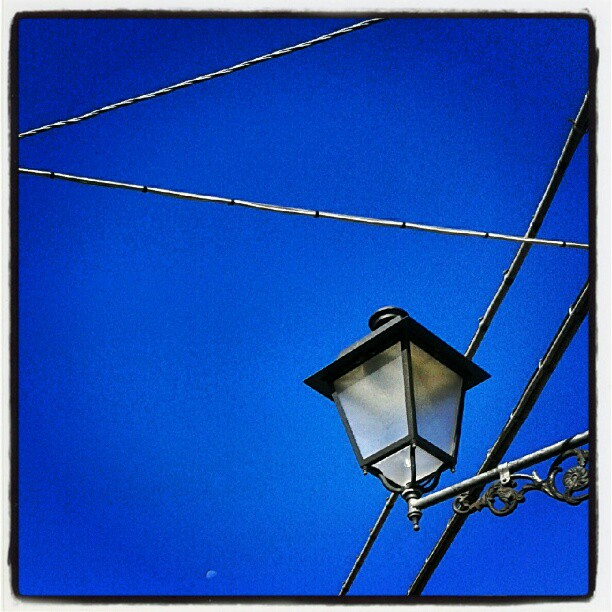 Sezioni elettrificate di #bleuciel