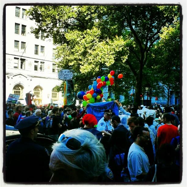 Occupy is back... or not? #ows #edizionestraordinaria