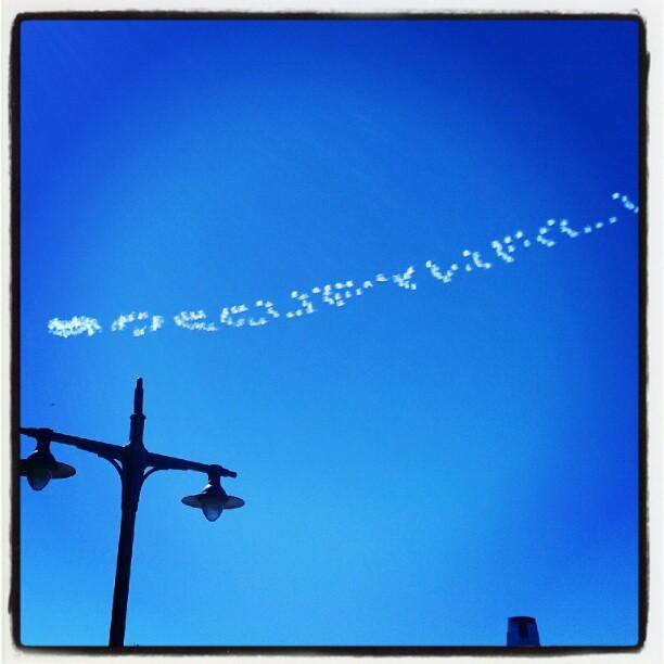 Portare l'assalto dal cielo, ovvero tag in the sky #ows