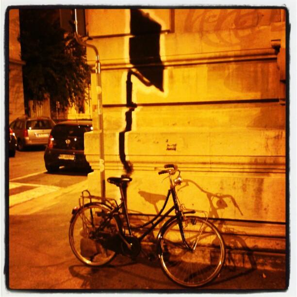 Tutti allo stesso posto, anche la #bici oppure no?