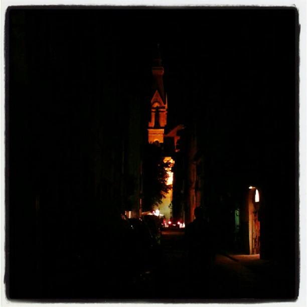Buia è la notte in Borgo Allegri