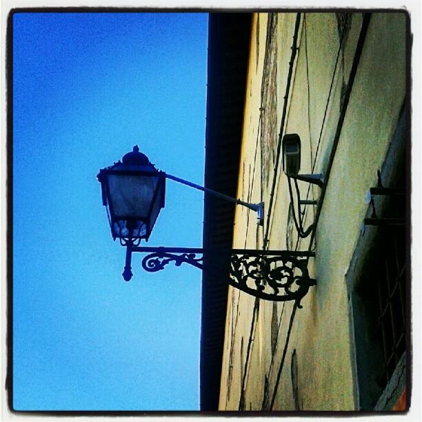 Paranoia e poesia #bleuciel #lanternmaniacs & #cctv