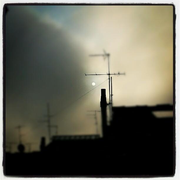 Fotografando la prima nebbia... #autunno