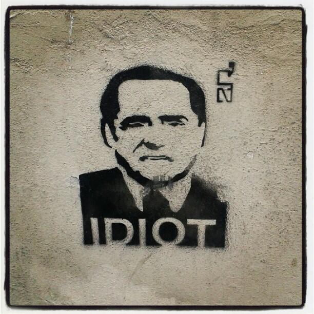 Indelebile questo ventennio #streetart #ancoratu