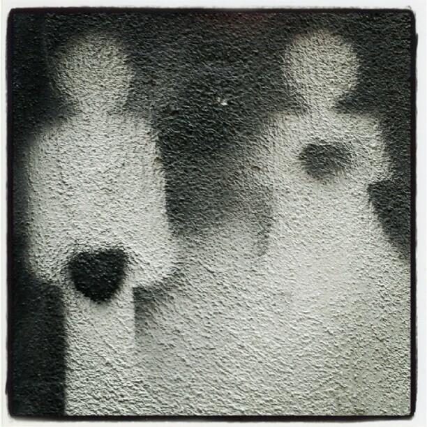 Geografie del cuore #stencil #streetart