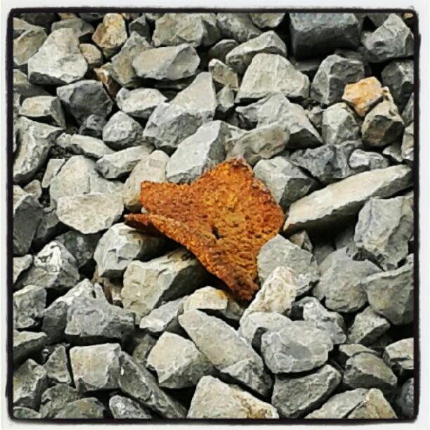 Ruggine e pietre #vitapendolare
